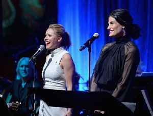 Idina Menzel and Kristen Bell will both receive a spot on the Hollywood Walk of Fame. [Video]