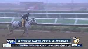 Bing Crosby Racing season begins in Del Mar [Video]