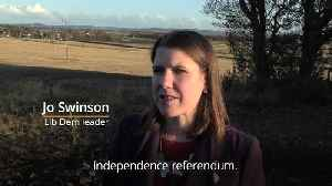 Lib Dem leader vows to block Scottish independence referendum [Video]
