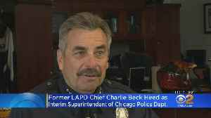 Retired LAPD Chief Charlie Beck Named Interim Chicago Police Superintendent [Video]