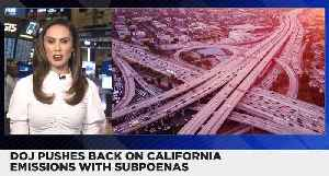 DOJ Issues Subpoenas to Automakers in California Emissions Agreement [Video]