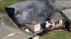 NTSB Helping Investigate Deadly Plane Crash Into SoCal Home; Pilot Still Unidentified [Video]