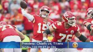 News video: Chiefs-Titans Preview: Patrick Mahomes Will Play In Week 10