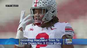 Skidding Maryland Tries To Slow Down No. 3 Ohio State [Video]