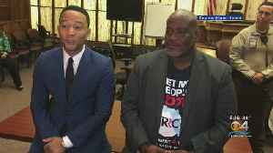 Singer John Legend In Miami-Dade Court Supporting Ex-Felons' Voting Rights Restored [Video]