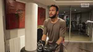 Neymar's brutal workout [Video]
