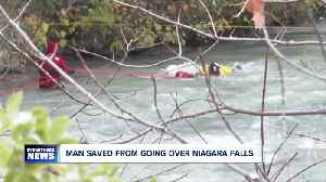 Niagara Falls rescue credited to bravery, training and water levels [Video]