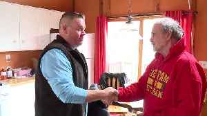 Veterans Helping Veterans After Facebook Post Asking for Electrical Work [Video]
