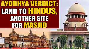 News video: The Ayodhya verdict: Muslims to get alternative site for masjid   Oneindia News