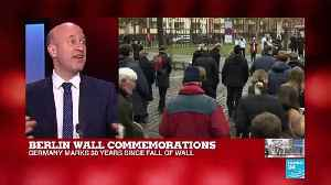 "Berlin Wall commemorations: In the first half of 1989 ""there wasn't a sense of imminent collapse"" [Video]"