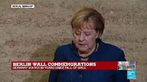 """Merkel: """"The 9th of November is a key date for German history"""" [Video]"""