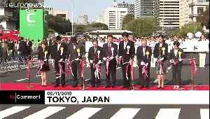 Japan celebrates New Emperor Naruhito with music and dance [Video]