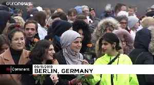 Germany marks 30th anniversary of fall of Berlin Wall [Video]