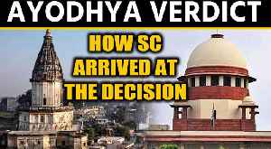 Ayodhya Verdict: Why did Hindu parties win claim over the disputed site [Video]