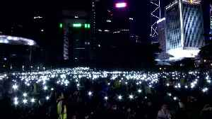 Thousands gather for 'martyrs' vigil amid Hong Kong protest [Video]