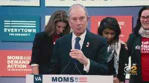 Michael Bloomberg Files Papers To Get Name On Presidential Ballot [Video]