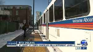 More than two dozen train trips canceled Friday as RTD continues to deal with operator shortage [Video]