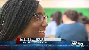 Students share ideas and concerns at Teen Town Hall [Video]