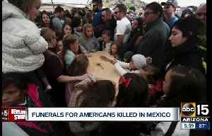 Funerals being held for Americans killed in Mexico [Video]