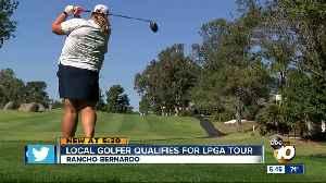 Escondido golfer Haley Moore qualifies for 2020 LPGA tour [Video]