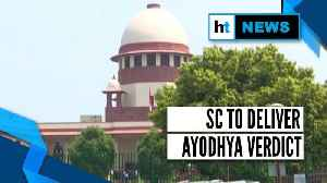News video: Ayodhya dispute case: Security tightened ahead of SC's verdict