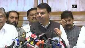Grateful to PM Modi, people of Maharashtra Fadnavis after tendering resignation [Video]