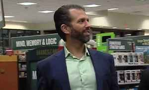 Donald Trump Jr. in Palm Beach Gardens for book signing [Video]