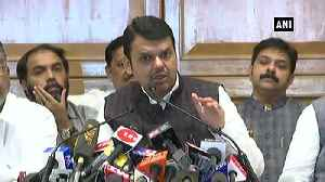 News video: Shiv Sena talked with Congress, NCP thrice a day didnt pick our calls Fadnavis