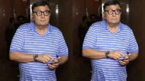 SPOTTED : After Watching Movie RISHI KAPOOR AT PVR JUHU CINEMAS [Video]