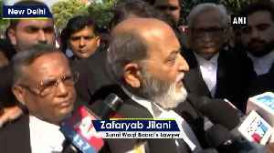 News video: Ayodhya Verdict We respect judgement but not satisfied says Sunni Waqf Board Lawyer