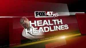 News video: Health Headlines - 11/8/19