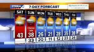 News video: Temperatures drop more, fairly dry week ahead