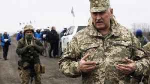 News video: Ukraine and Russian-backed rebels begin troop withdrawal in eastern regions