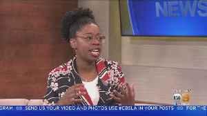 News video: NCIS Star, Dinona Reasonover Live On KCAL9 News