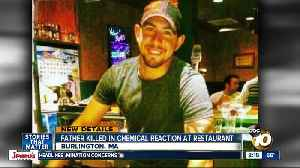 Father killed in chemical reaction at Buffalo Wild Wings [Video]