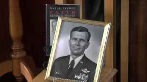 Clay Co. Historical Society hosts meet and greet with Col. David W. Eberly [Video]