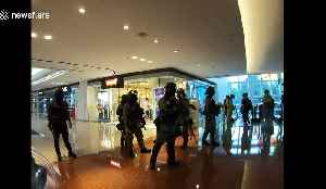 Chaos in Hong Kong as riot police use pepper spray inside shopping mall [Video]