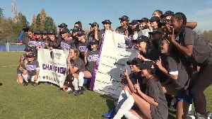 The Boise State Broncos soccer team wins their first Mountain West championship [Video]