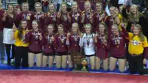 Luxemburg-Casco wins first ever state volleyball championship [Video]