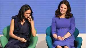 Meghan Markle, Kate Middleton: Rare Joint Appearance [Video]