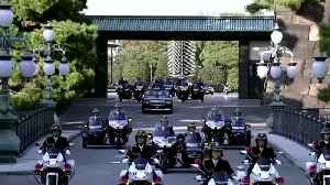 Japan imperial couple rides through Tokyo in grand enthronement parade [Video]