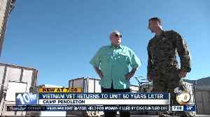 Vietnam veteran returns to Camp Pendleton, sharing story of historic battle [Video]