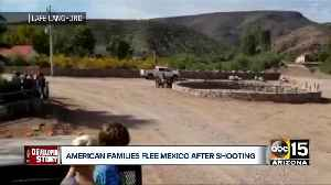 Families leaving after Mexico violence arrive in Arizona [Video]