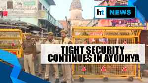 Ayodhya Verdict | No untoward incident reported in Ayodhya, tight security continues [Video]
