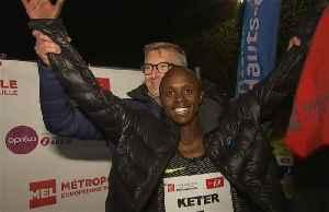 Keter sets new Urban Train 5km record