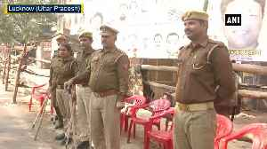 News video: Ayodhya case Security remains tightened after SCs verdict in Lucknow