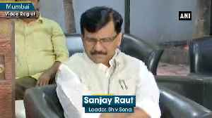 News video: If no one is ready to form govt in Maharashtra then Shiv Sena can take this responsibility Sanjay Raut