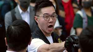 News video: Hong Kong protests getting more violent as anger at police grows