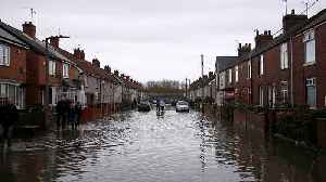 Dozens of flood warnings in UK as heavy rain expected to continue [Video]