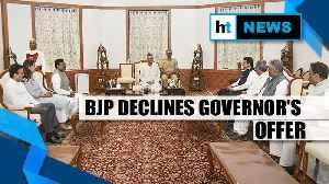 'Sena insulted mandate': BJP tells Maharashtra Governor it can't form govt [Video]